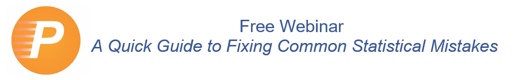 Free webinar, a quick guide to fixing common statistical mistakes